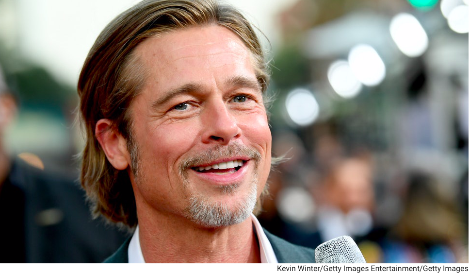 Headshot of Brad Pitt