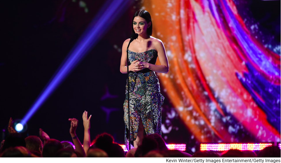 Image of Lucy Hale at Teen Choice Awards