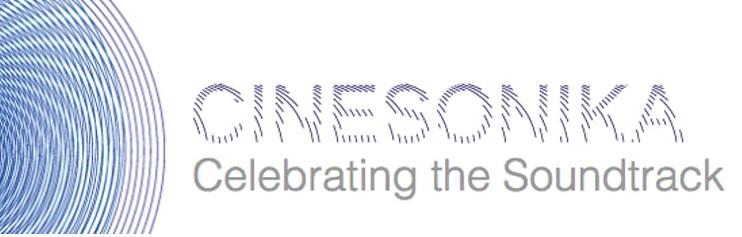 Image that says Cinesonika Celebrating the Soundtrack