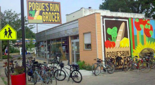 Pogue's Run Grocer will close its store a final time at 7 p.m., Monday.