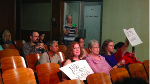 Members of the Community Affairs Committee heard testimony from supporters and opponents of a resolution urging state lawmakers to considering a ban on assault weapons and high-capacity magazines.